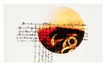 2010 - 42 cm X 32 cm - Œuvre sur papier, monotype