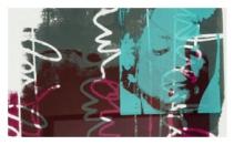 2004 - 42 cm X 32 cm - Œuvre sur papier, monotype