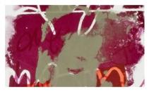 2004 - 64 cm X 25 cm - Œuvre sur papier, monotype
